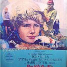 RUN WILD RUN FREE ~  '69 RARE SIZE & STYLE 30x40 Theatre Transparency Movie Poster ~ MARK LESTER