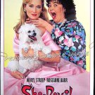 SHE DEVIL ~ Ex-Cond Rolled '89 1 Sheet Movie Poster ~ ROSEANNE BARR / MERYL STREEP