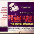 THE BOSTON STRANGLER ~ '68 Half-Sheet Movie Poster ~ TONY CURTIS / HENRY FONDA / GEORGE KENNEDY