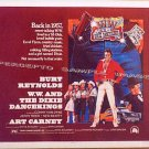 W W And The DIXIE DANCEKINGS ~ '75 Half-Sheet Movie Poster ~ BURT REYNOLDS / ART CARNEY