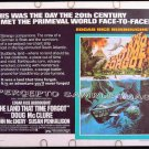 The LAND THAT TIME FORGOT ~ '75 Half-Sheet Movie Poster ~ DINOSAURS /  DOUG McCLURE