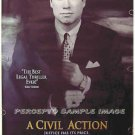 CIVIL ACTION ~ '98 Rolled 1-Sheet Movie Poster ~ JOHN TRAVOLTA / COURTROOM DRAMA