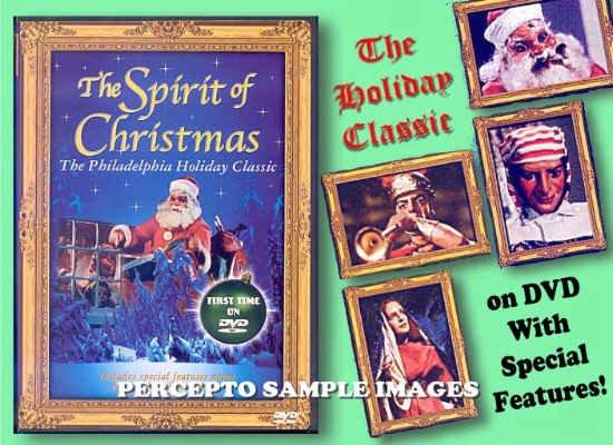 SPIRIT OF CHRISTMAS ~ NEW DVD ~ 50s COLOR TV CLASSIC / MABEL BEATON MARIONETTES / BONUS FEATURES