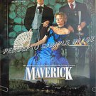 MAVERICK ~ 1-Sheet Advance Western Movie Poster ~ MEL GIBSON / JODIE FOSTER / JAMES GARNER