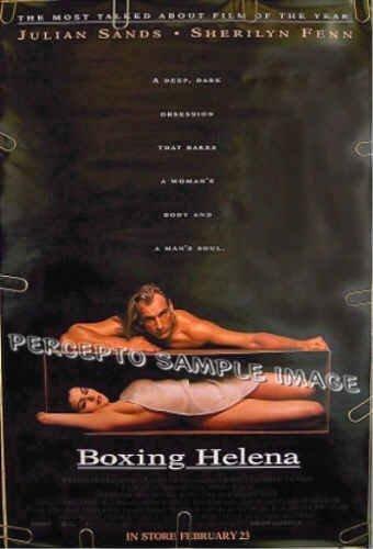 BOXING HELENA ~ Sexy '93 1-Sheet Movie Poster ~ SHERILYN FENN / JULIAN SANDS / JENNIFER LYNCH