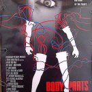 BODY PARTS ~ '91 1-Sheet Horror Movie Poster ~ JEFF FAHEY / KIM DELANEY / BRAD DOURIF