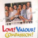 LOVE VALOUR COMPASSION ~ '97 1-Sheet GAY INTEREST Movie Poster ~ JASON ALEXANDER / JOHN GLOVER