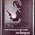 The ENFORCER / Dirty Harry ~ '77 Rare Size 40x60 Movie Poster ~ CLINT EASTWOOD / TYNE DALY