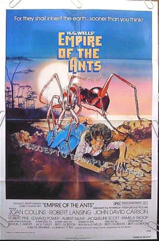 EMPIRE OF THE ANTS ~ '77 1-Sheet Movie Poster ~ JOAN COLLINS / ROBERT LANSING / DREW STRUZAN Art