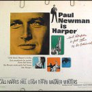 HARPER ~ '66 Half-Sheet Movie Poster ~ PAUL NEWMAN / JANET LEIGH / LAUREN BACALL