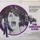 The GRISSOM GANG ~ Orig '71 Half-Sheet Movie Poster ~ KIM DARBY / SCOTT WILSON / ROBERT ALDRICH