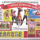 APPLE DUMPLING GANG ~ '75 DISNEY Half-Sheet Movie Poster ~ DON KNOTTS / TIM CONWAY / BILL BIXBY