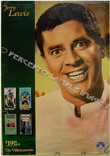JERRY LEWIS Collection ~ '88 Limited Edition 1S Poster ~ COMEDY MOVIES