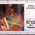 EMMANUELLE 2 The Joys of a Woman ~Sexy '76 Half-Sheet Movie Poster ~ SYLVIA KRISTEL