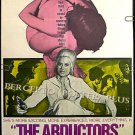 The ABDUCTORS ~ Sexy '73 1-Sheet Adults Only Bondage Movie Poster ~ CHERI CAFFARO / GINGER Sequel
