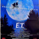 E.T. The Extra Terrestrial ~ '88 Orig Bike & Moon Movie Poster / ET ~ STEVEN SPIELBERG