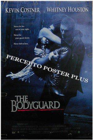 The BODYGUARD ~ '92 Original 1-Sheet Movie Poster ~ WHITNEY HOUSTON / KEVIN COSTNER