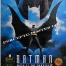 BATMAN Mask Of The Phantasm ~ '94 DC COMICS ART 1-Sheet Movie Poster ~ DARK KNIGHT / MARK HAMILL