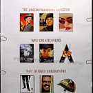 STANLEY KUBRICK ~ '99 Limited ED 1-Sheet TRIBUTE Movie Poster ~ SHINING / DR STRANGELOVE / LOLITA