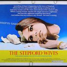 The STEPFORD WIVES ~  '75 Half-Sheet Movie Poster ~  KATHARINE ROSS / TINA LOUISE / IRA LEVIN