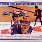 CHARLEY VARRICK ~ Original '73 Half-Sheet Movie Poster ~ WALTER MATTHAU / JOE DON BAKER