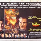 TOWERING INFERNO ~  '74 Half-Sheet Movie Poster ~ STEVE McQUEEN / PAUL NEWMAN / FAYE DUNAWAY