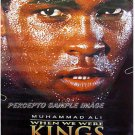 WHEN WE WERE KINGS ~ '96 1-Sheet BOXING Movie Poster ~ MUHAMMAD ALI / GEORGE FOREMAN