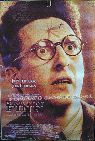 BARTON FINK  ~ Ex-Cond '91 1-Sheet Movie Poster ~  JOHN TURTURRO / JOHN GOODMAN / COEN BROTHERS