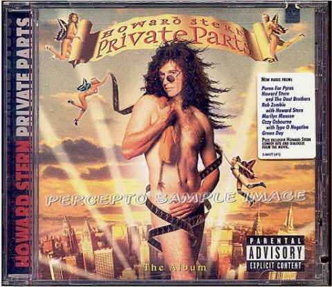 PRIVATE PARTS ~  NEW Limited Edition CD Movie Soundtrack ~ Collectible Cover: HOWARD STERN as VENUS