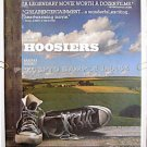 HOOSIERS ~ '86 1-Sheet Basketball Movie Poster ~  GENE HACKMAN / BARBARA HERSHEY / DENNIS HOPPER