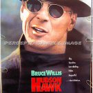 HUDSON HAWK  ~'91 DS ADVANCE 1-Sheet Movie Poster ~  BRUCE WILLIS / DANNY AIELLO / ANDIE MacDOWELL