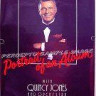 FRANK SINATRA Portrait of an Album ~ Rare '86 1-Sheet Poster ~  QUINCY JONES