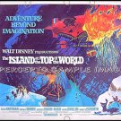 ISLAND AT THE TOP OF THE WORLD ~ '74 Half-Sheet WALT DISNEY Movie Poster ~ DAVID HARTMAN