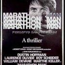MARATHON MAN   ~ '76 40x60 Movie Poster ~ DUSTIN HOFFMAN / LAURENCE OLIVIER / BILL GOLD Poster Art