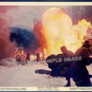 WHERE EAGLES DARE ~ Orig '68 Color Movie Photo ~ NAZI ATTACK