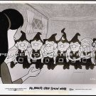 MR MAGOO'S LITTLE SNOW WHITE ~ Rare '70 Original Movie Photo #2 ~ CARTOON ANIMATION / SEVEN DWARFS