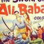 SWORD OF ALI BABA ~ Rare-Size '65 Half-Sheet Movie Poster ~ PETER MANN / JOCELYN LANE