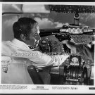SKYJACKED / SKY TERROR ~ Original '72 Movie Photo ~ CHARLTON HESTON at Gunpoint