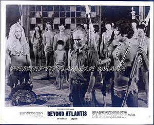 BEYOND ATLANTIS ~ '73 Original CULT CLASSIC Movie Photo #1~ Sexy LENORE STEVENS