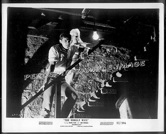 The UNHOLY WIFE ~ Sexy Orig '57 NOIR Movie Photo ~ DIANA DORS / TOM TRYON