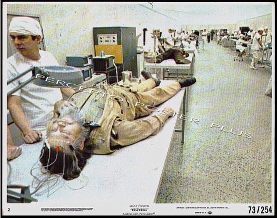WESTWORLD ~ Orig '73 Sci-Fi Movie Photo ~ ROBOT LAB / MICHAEL CRICHTON