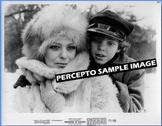 PROMISE AT DAWN ~ Orig '71 Movie Photo ~ MELINA MERCOURI / JULES DASSIN