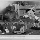 PINOCCHIO ~ 1940 Orig WALT DISNEY R84 Movie Photo ~ with FIGARO The Cat & JIMINY CRICKET