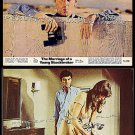 The MARRIAGE OF A YOUNG STOCKBROKER ~ Lot of Two '71 Comedy Movie Photos ~ Voyeur RICHARD BENJAMIN