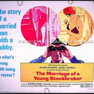 The MARRIAGE OF A YOUNG STOCKBROKER ~ Sexy '71 Half-Sheet Movie Poster ~ RICHARD BENJAMIN / VOYEUR