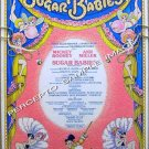 SUGAR BABIES ~ '79 Ltd Edition SUGAR-COATED NYC Broadway Musical Poster ~ MICKEY ROONEY / ANN MILLER
