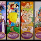 SNOW WHITE & THE SEVEN DWARFS ~ Set of 4 Door Panels / Movie Posters R75 ~ DISNEY CARTOON CLASSIC