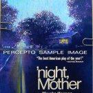 'NIGHT, MOTHER ~ Original 1983 New York Theatre Poster ~ KATHY BATES / MARSHA NORMAN / NIGHT MOTHER