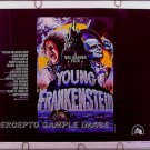 YOUNG FRANKENSTEIN ~ Orig '74 Half-.Sheet Movie Poster ~ MEL BROOKS / GENE WILDER / PETER BOYLE
