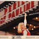 The PERILS OF PAULINE ~ Original '67 Marquee Movie Photo ~ PAMELA AUSTIN The DODGE Girl